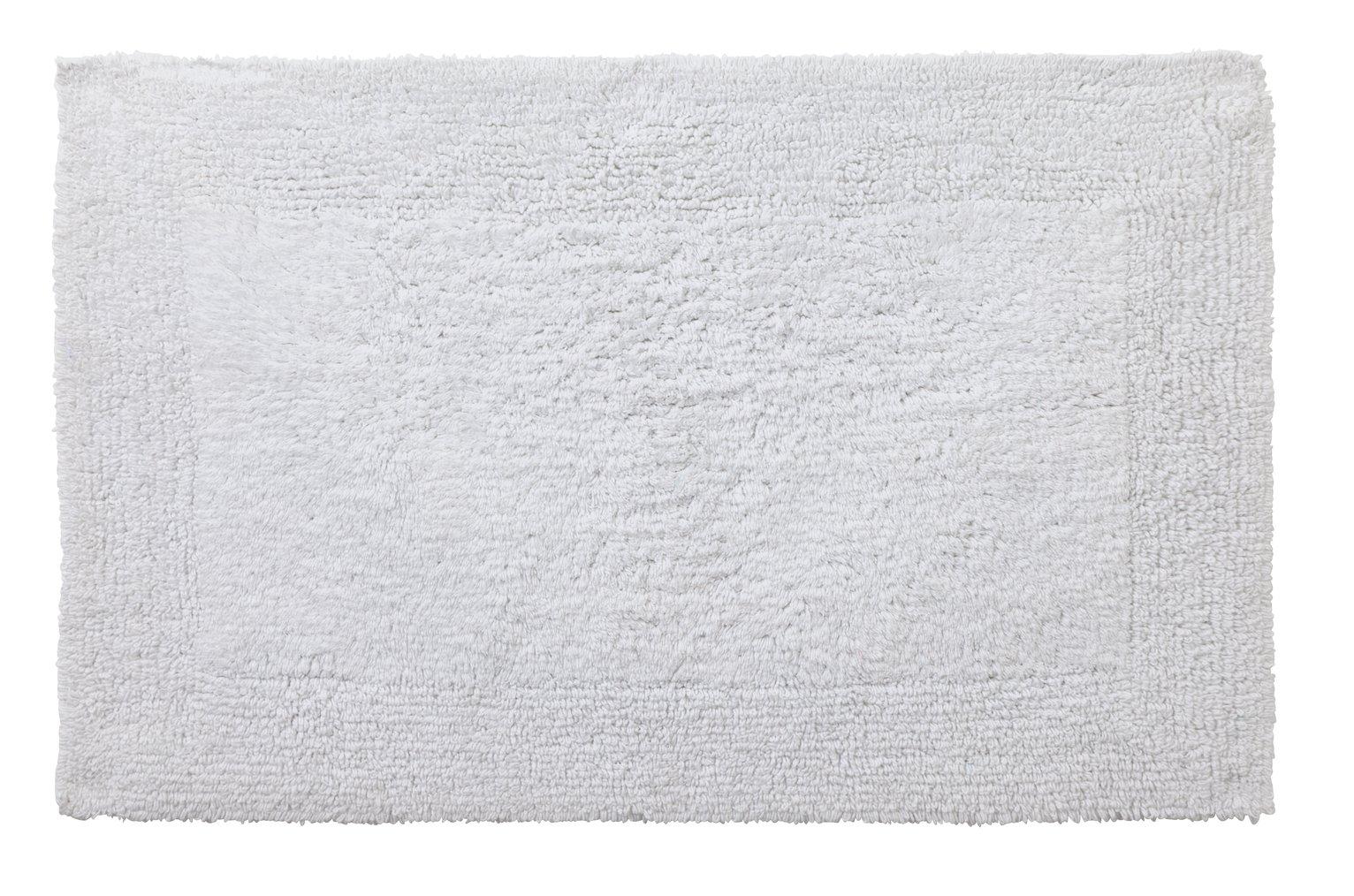 Heart of House Reversible Bath Mat - White