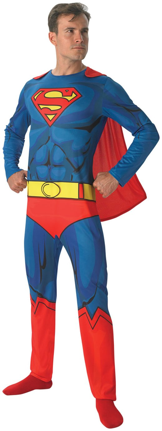 DC Superman Fancy Dress Costume - Large/Extra Large