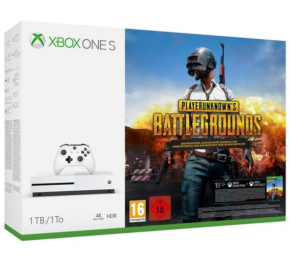 Xbox One S 1TB PlayerUnknowns Battlegrounds Console bundle