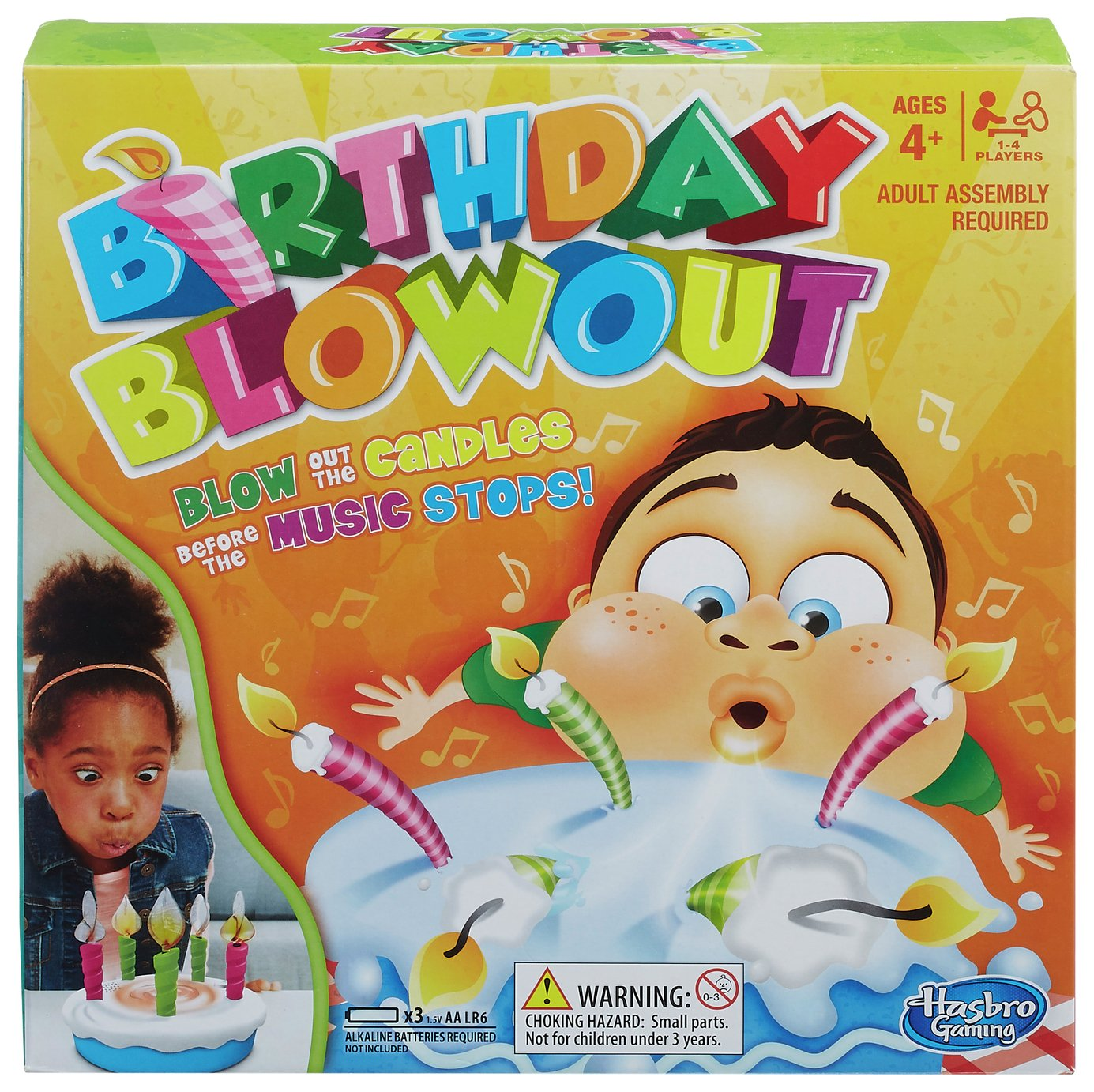 Image of Birthday Blowout Game from Hasbro Gaming
