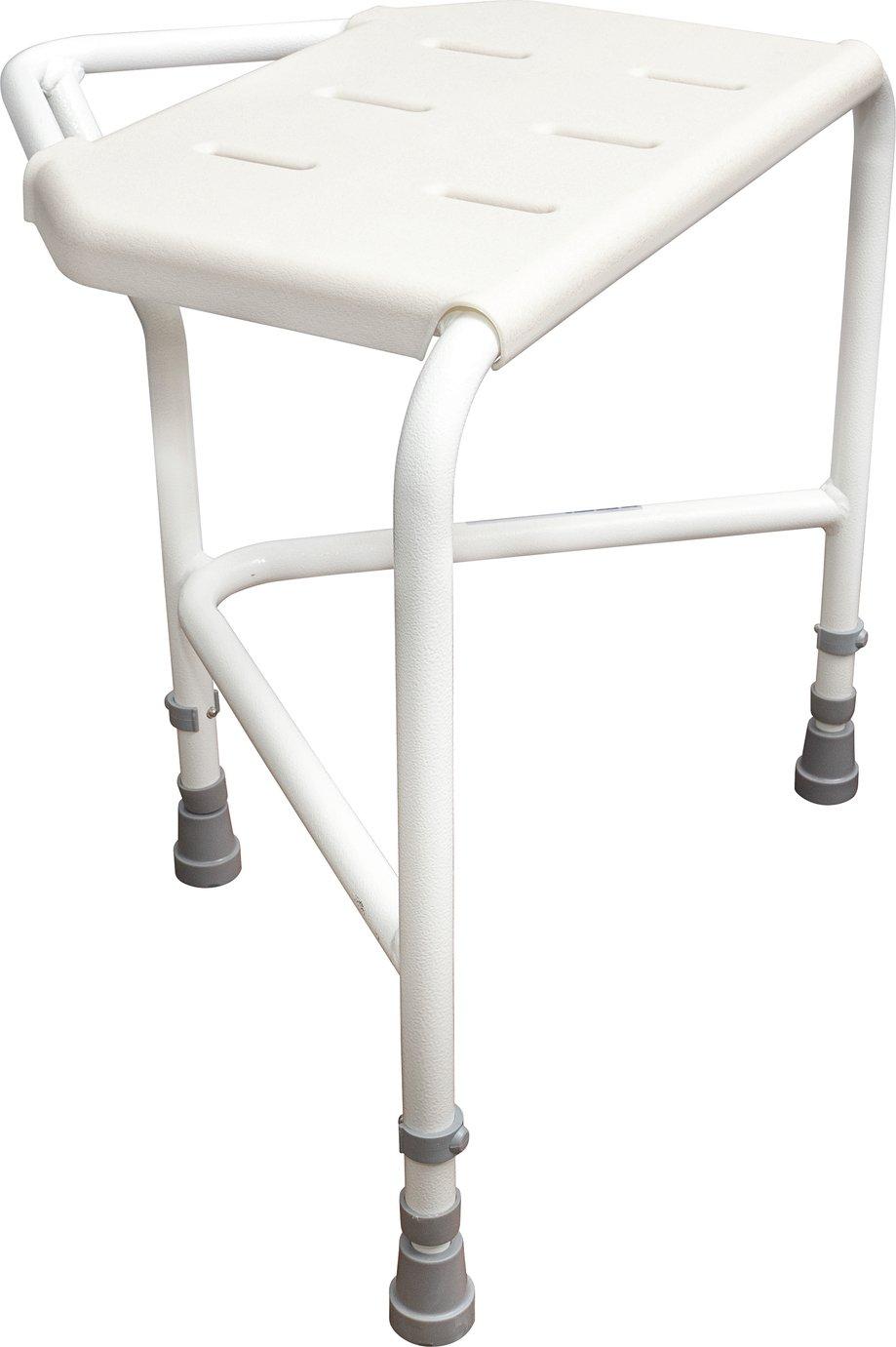 Aidapt Pembury Adjustable Corner Shower Stool