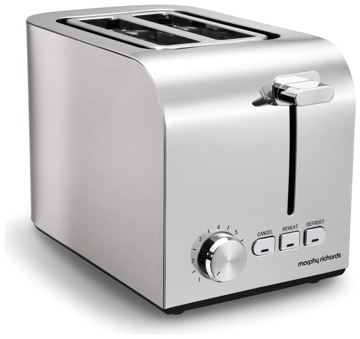 'Morphy Richards 222055 Equip 2 Slice Toaster - Brushed Steel