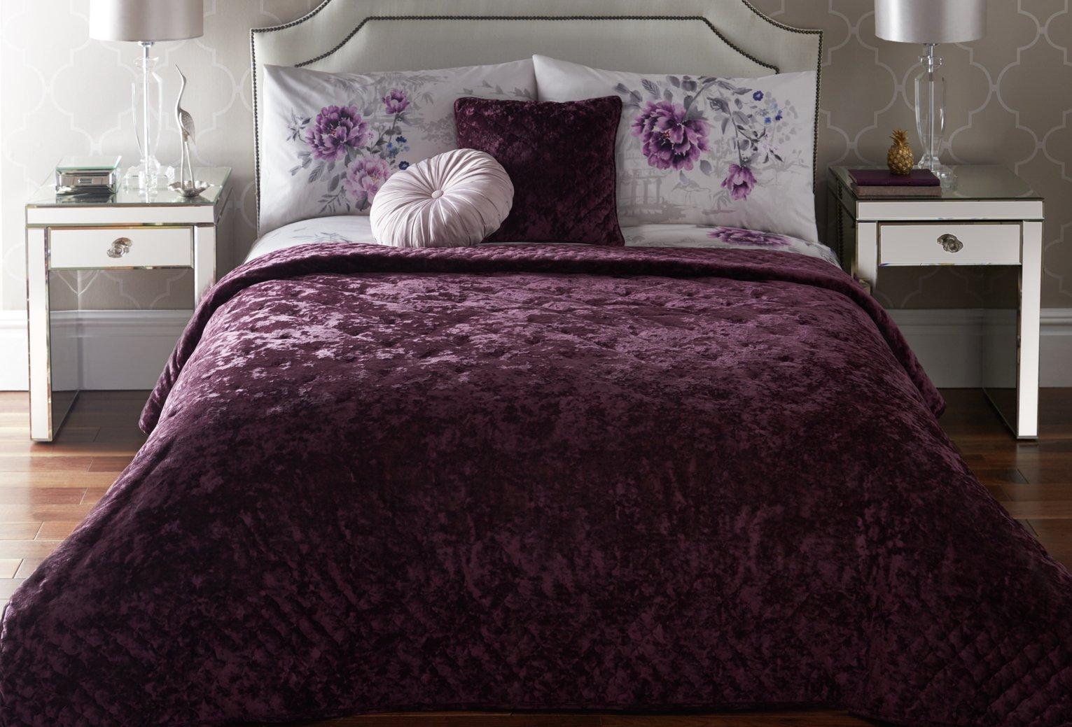 Image of Dreams N Drapes 220x220cm Bedspread - Kori Plum