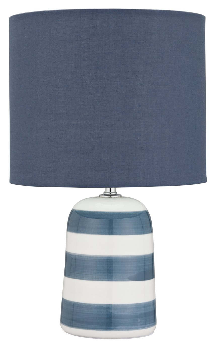Buy Argos Home Harbour Ceramic Table Lamp Blue White Table
