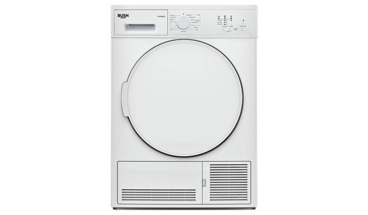 Bush TD7CNBCW 7KG Condenser Tumble Dryer - White