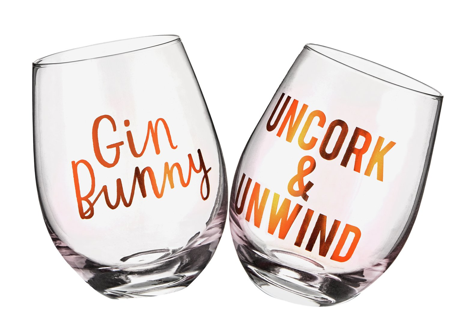 Gin Bunny Glasses - Set of 2