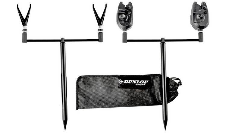 Dunlop Carp Rod Bankside Set with Alarms