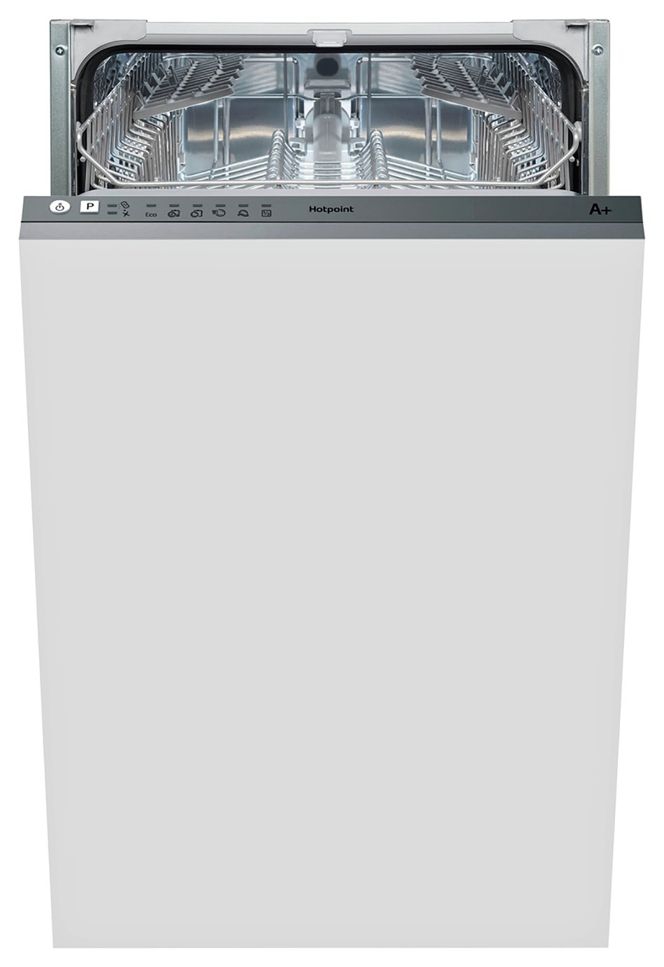 Hotpoint LSTB 6M19 Slimline Integrated Dishwasher - White