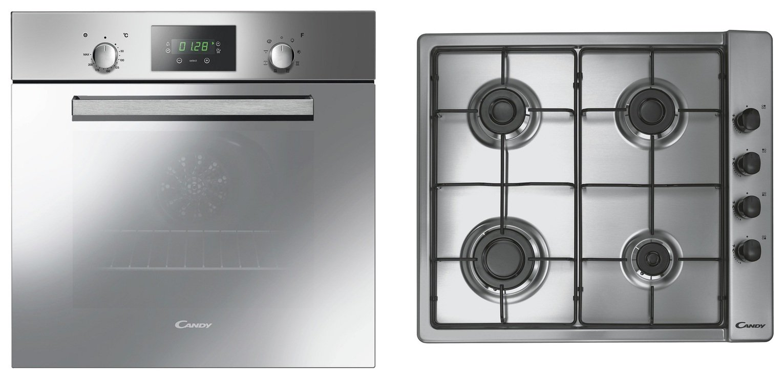 Image of Candy ACOM609XM/CLG64S Multifunction Oven with Gas Hob