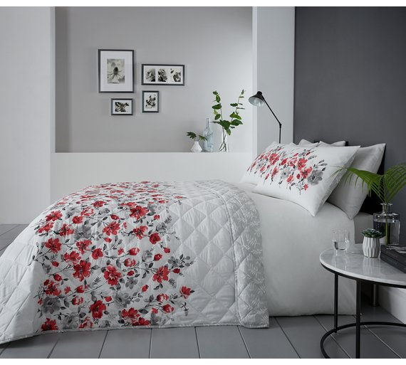 Buy Dreams N Drapes Gabriella Red Bedding Set Kingsize Duvet
