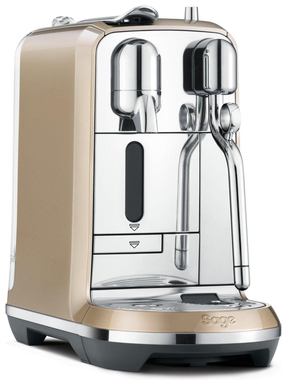 Image of Sage Nespresso Creatista Royal Champagne Coffee Machine