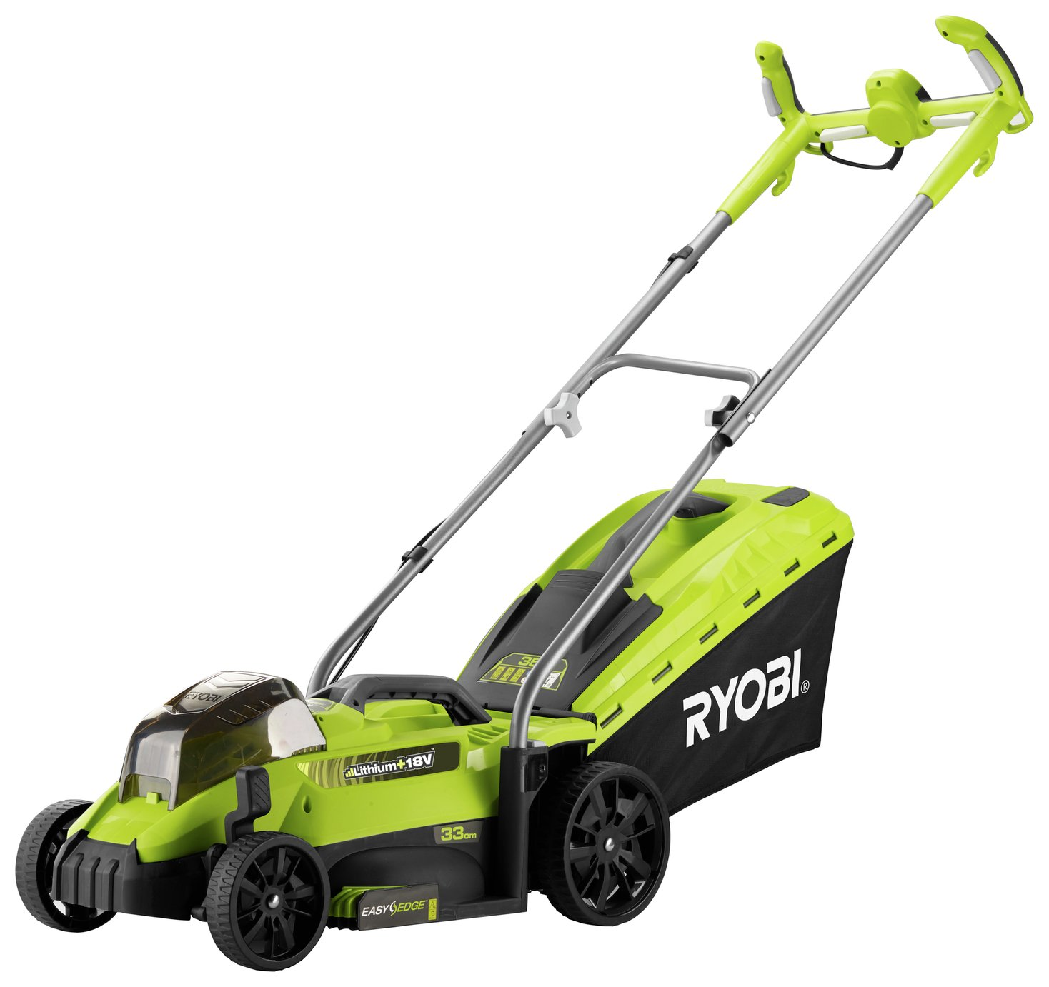 Ryobi OLM1833H 33cm Cordless Bare Rotary Mower - No Battery at Argos