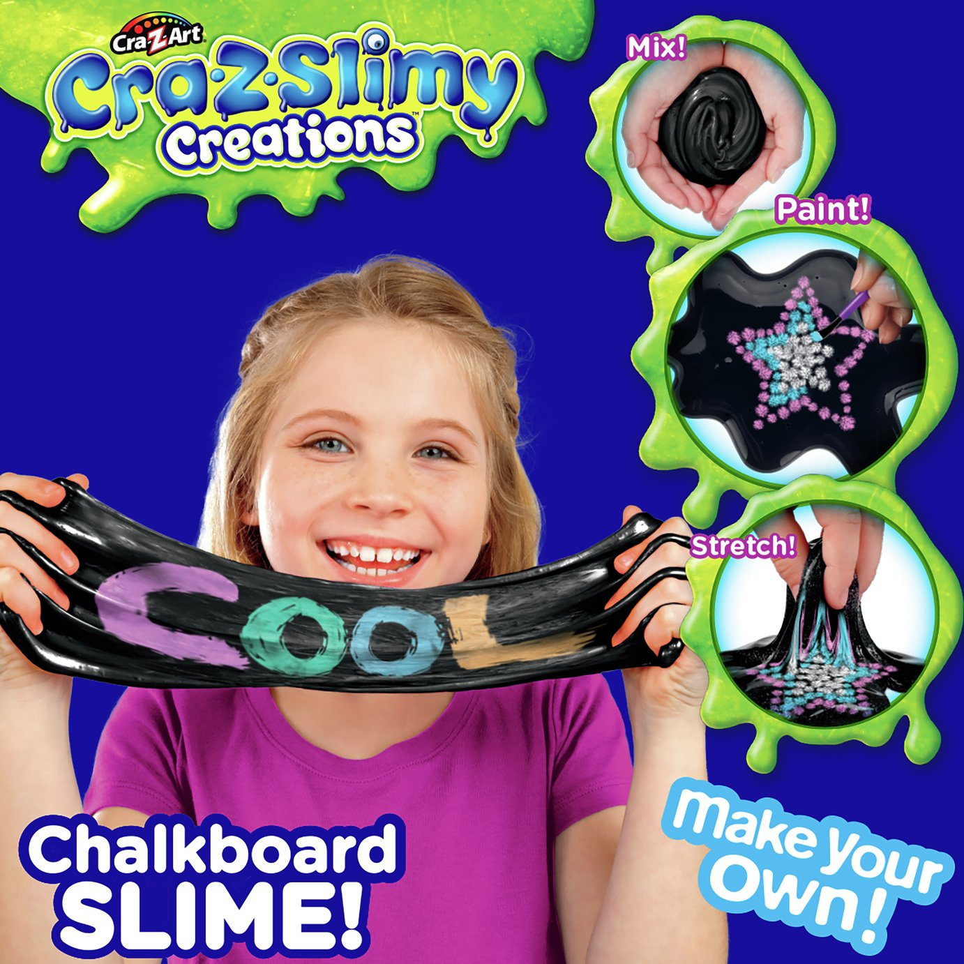 Image of Cra-Z-Slime Chalk Kit
