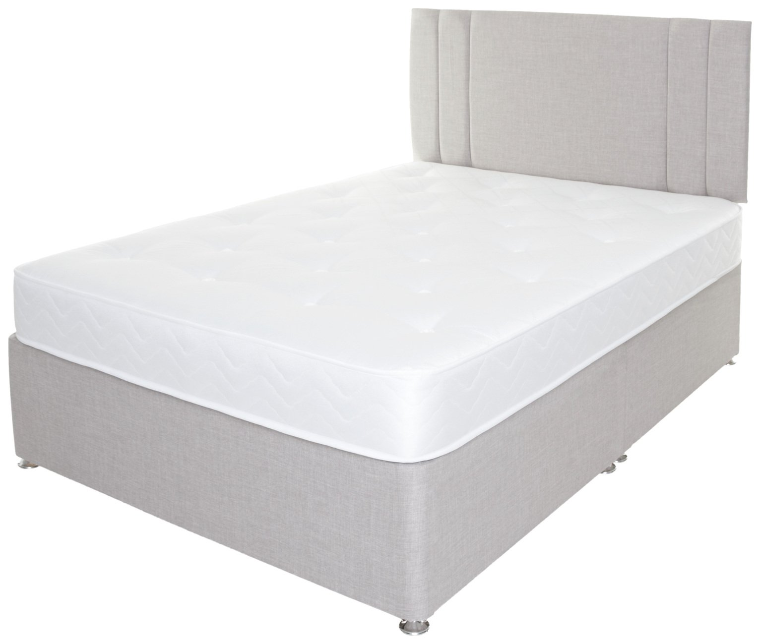 Airsprung Henlow 1200 Pocket Sprung Divan Set - Double
