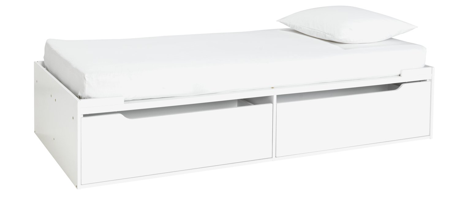 Argos Home Lloyd White Cabin Bed & Kids Mattress