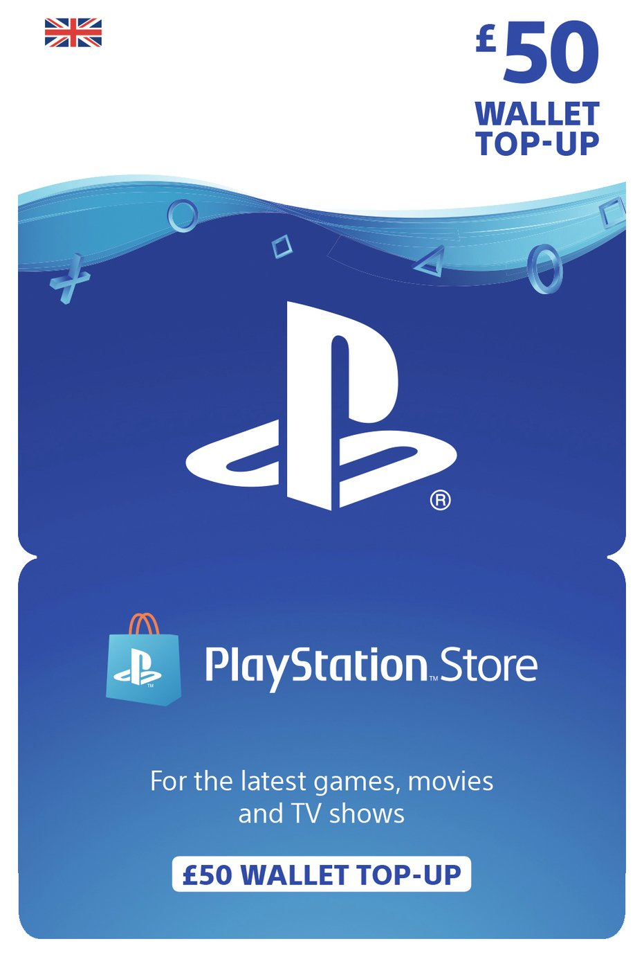 Image of Playstation Plus PSN ??50 Gift Card