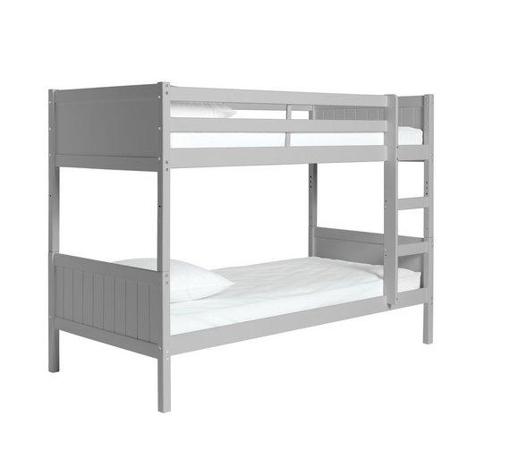 Buy Argos Home Kids Detachable Bunk Bed Frame Grey Kids Beds Argos