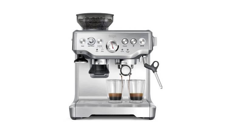 Buy Sage Bes875uk The Barista Express Espresso Coffee Machine Coffee Machines Argos