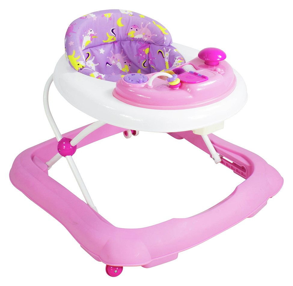 Baby Go Round Jive Walker - Pink
