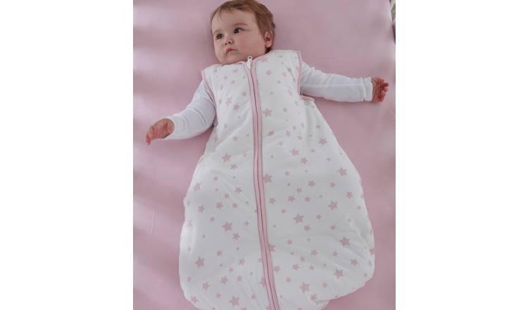 purchase cheap b0fd1 001fb Buy Silentnight Baby Sleeping Bag - Pink Stars | Baby sleeping bags | Argos