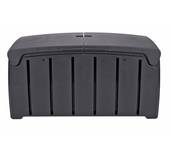 Buy Ward 300l Heavy Duty Garden Storage Box Grey Garden