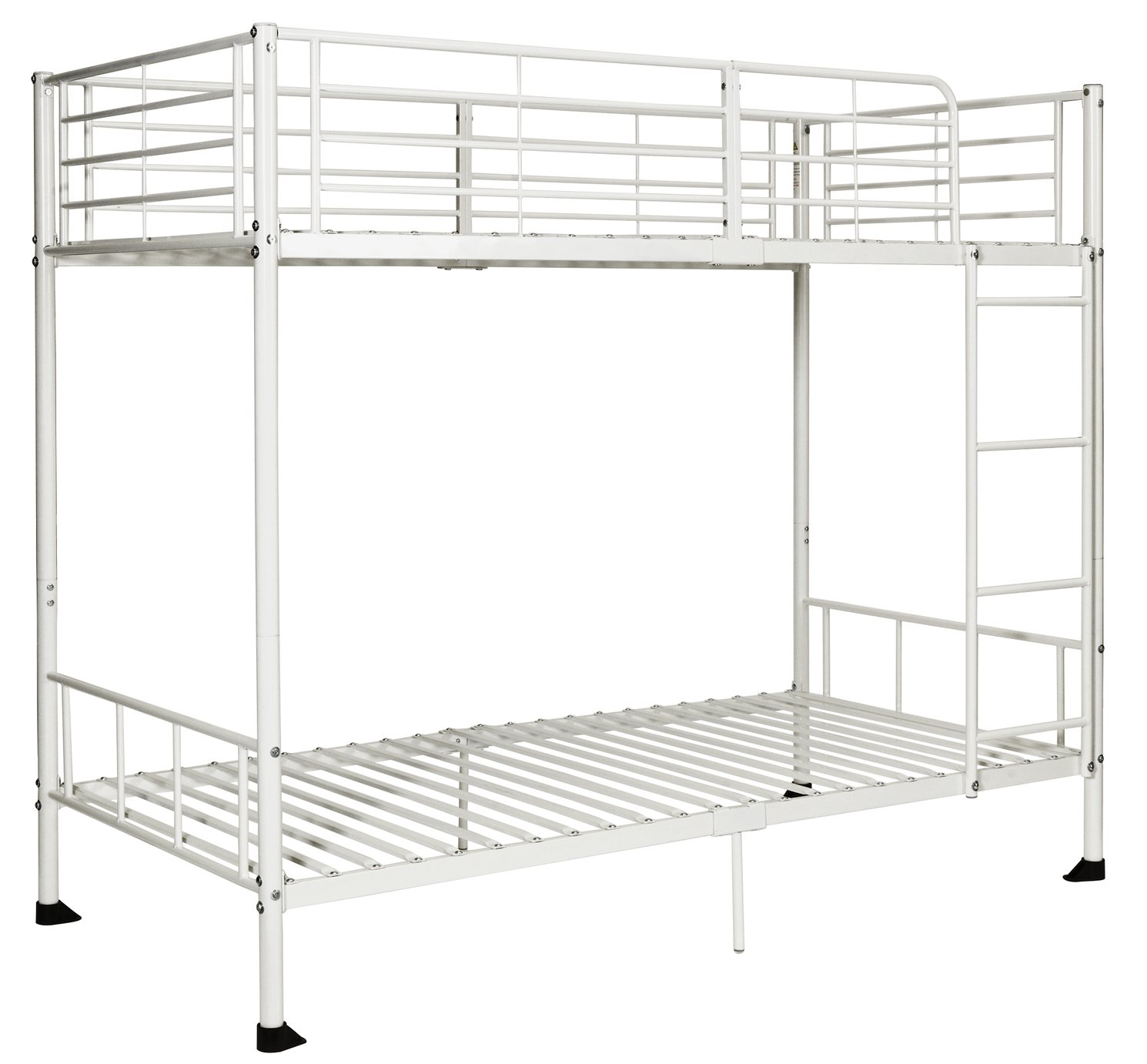 Picture of: Argos Home Maddison Single Bunk Bed Frame White 7986110 Argos Price Tracker Pricehistory Co Uk