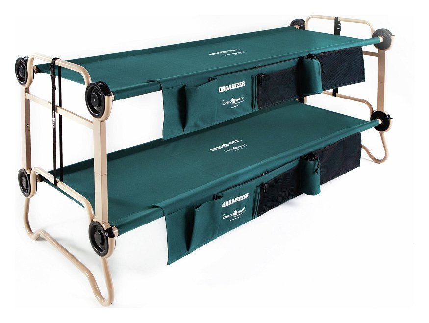 Image of Disc-O-Bed Mobile Bunk Bed With Organisers - Large