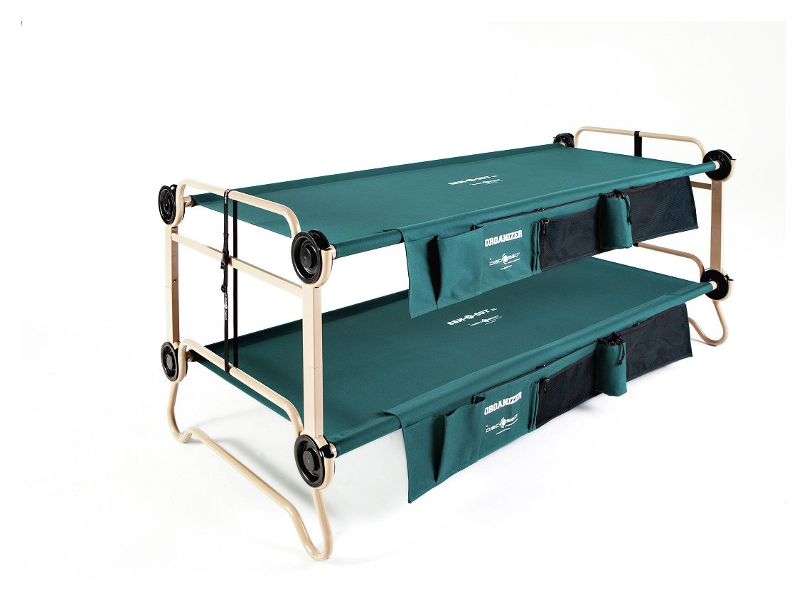 Image of Disc-O-Bed Mobile Bunk Bed With Organisers - X Large