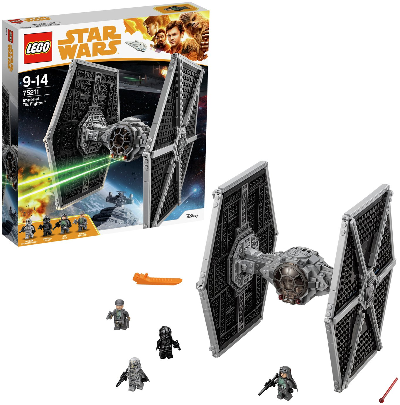 Image of LEGO Star Wars Imperial Tie Fighter - 75211