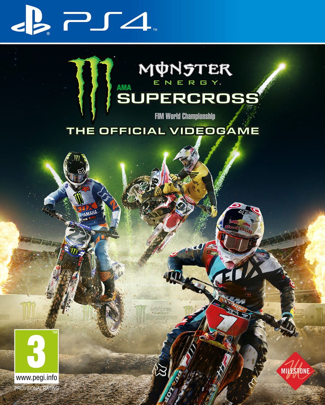 Image of Monster Energy Supercross PS4 Game