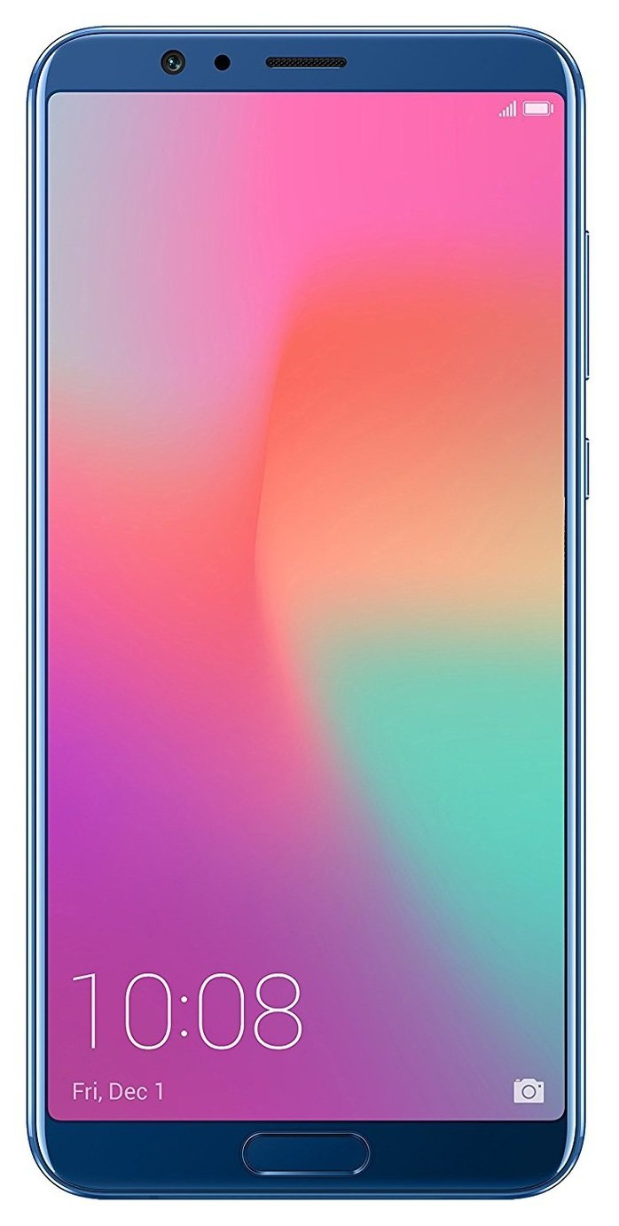 Image of Sim Free Honor View 10 Mobile Phone - Blue