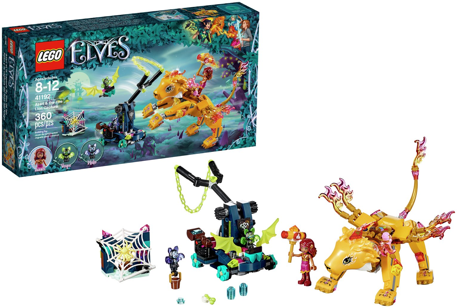 LEGO Elves Azari Fire Lion Capture - 41192