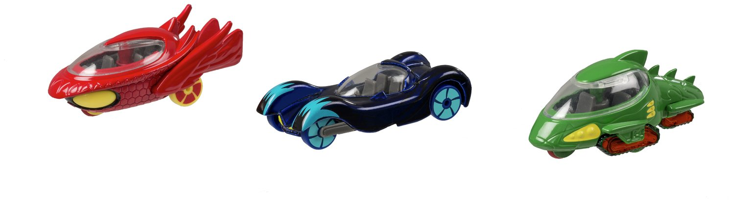 PJ Masks Die Cast Vehicle - 3 Pack