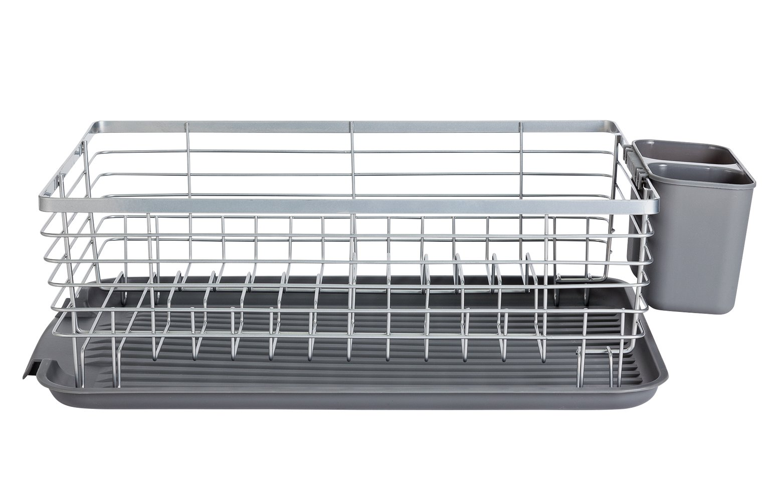 Argos Home Drainer and Wire Rack - Grey