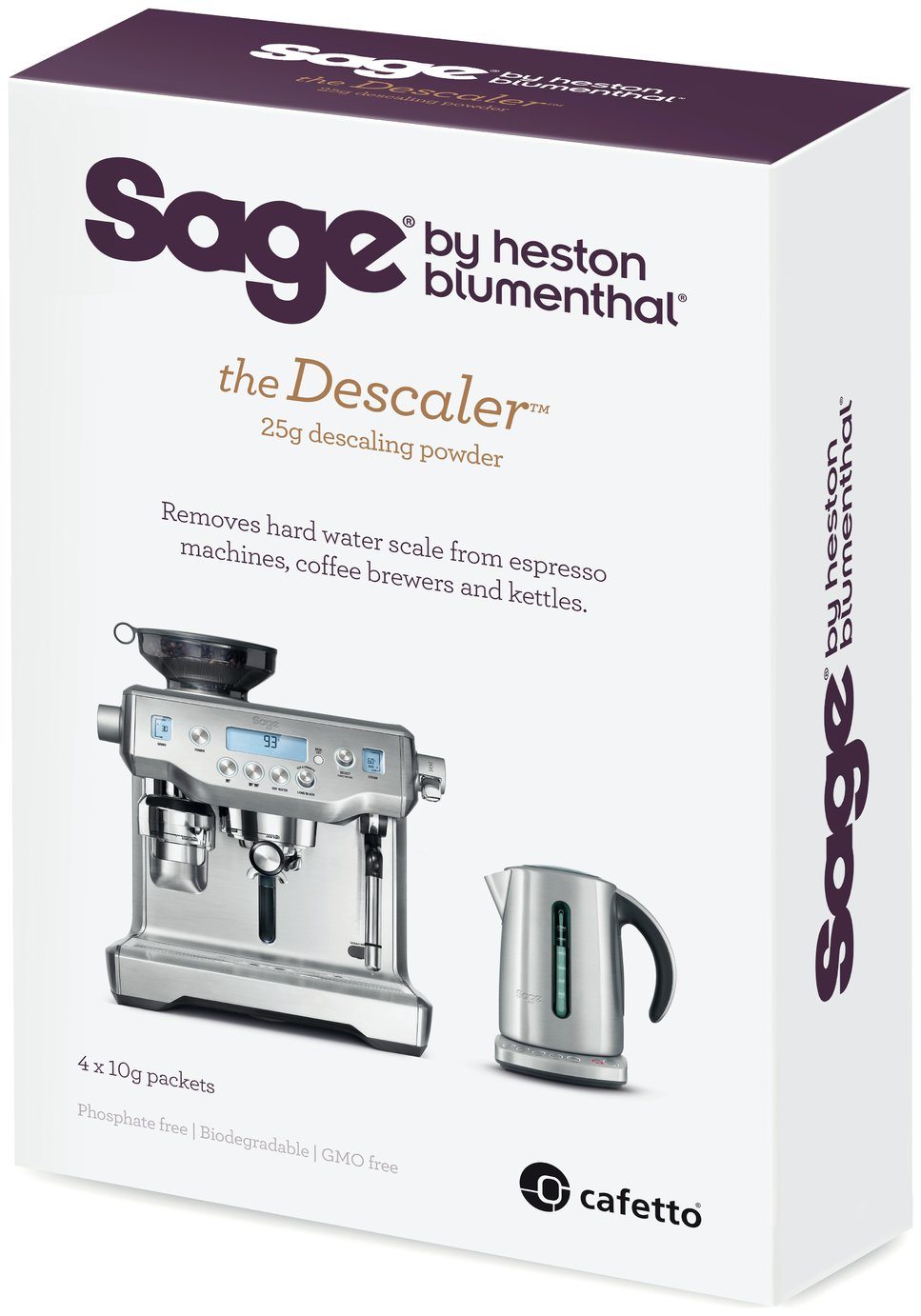 Sage The Hard Water Descaler - 4 Pack