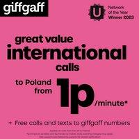 Giffgaff International Sim  Card