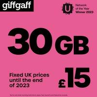 Giffgaff £15 Goodybag