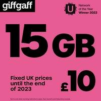 Giffgaff £10 Goodybag