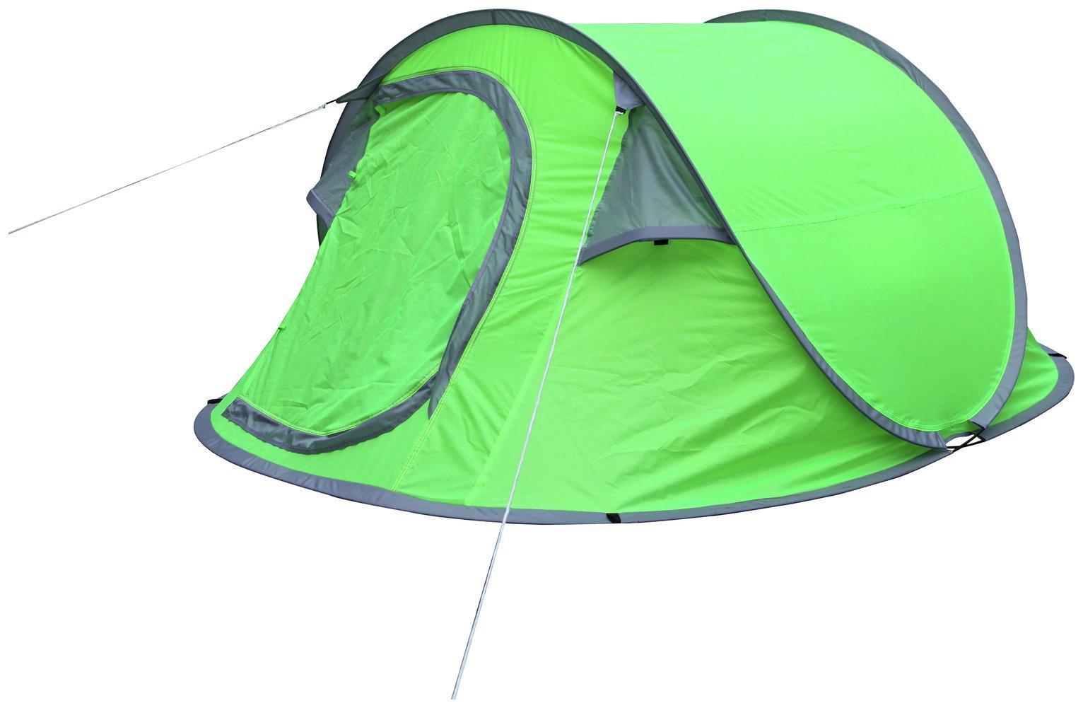 3 Man 1 Room Pop Up Tent798/8709  sc 1 st  Argos & Buy 3 Man 1 Room Pop Up Tent | Tents | Argos