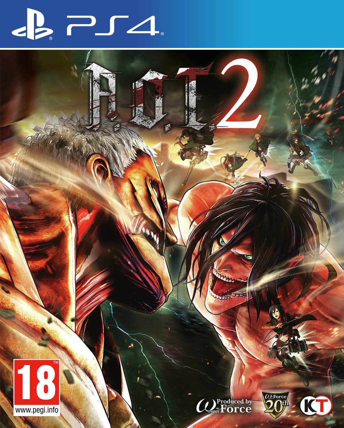 Image of Attack On Titan 2 PS4 Game