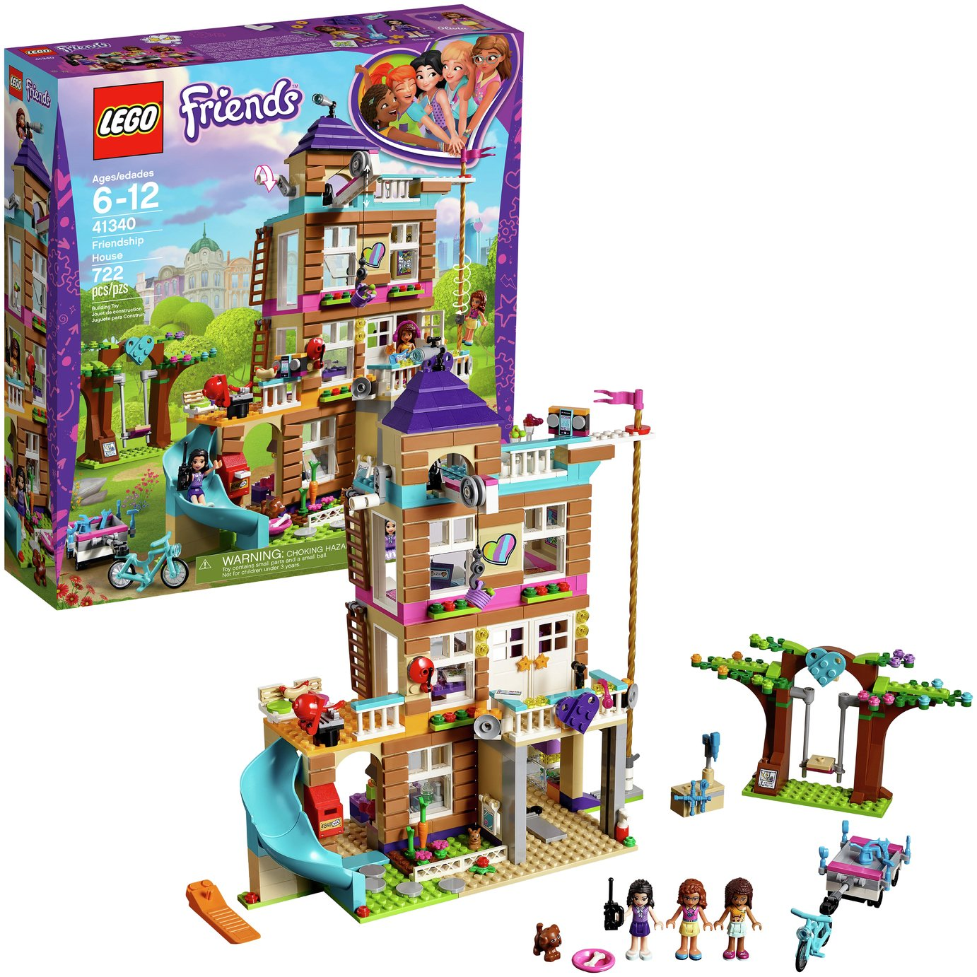 LEGO Friends Heartlake Friendship House Building Set   41340
