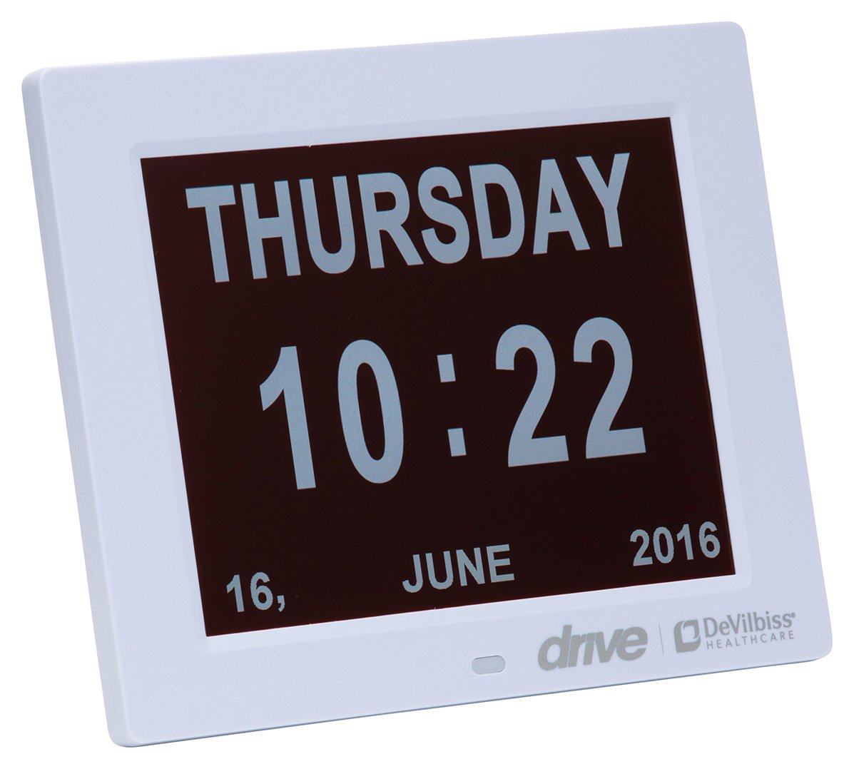 Image of Drive Digital Day Clock with 8 Display