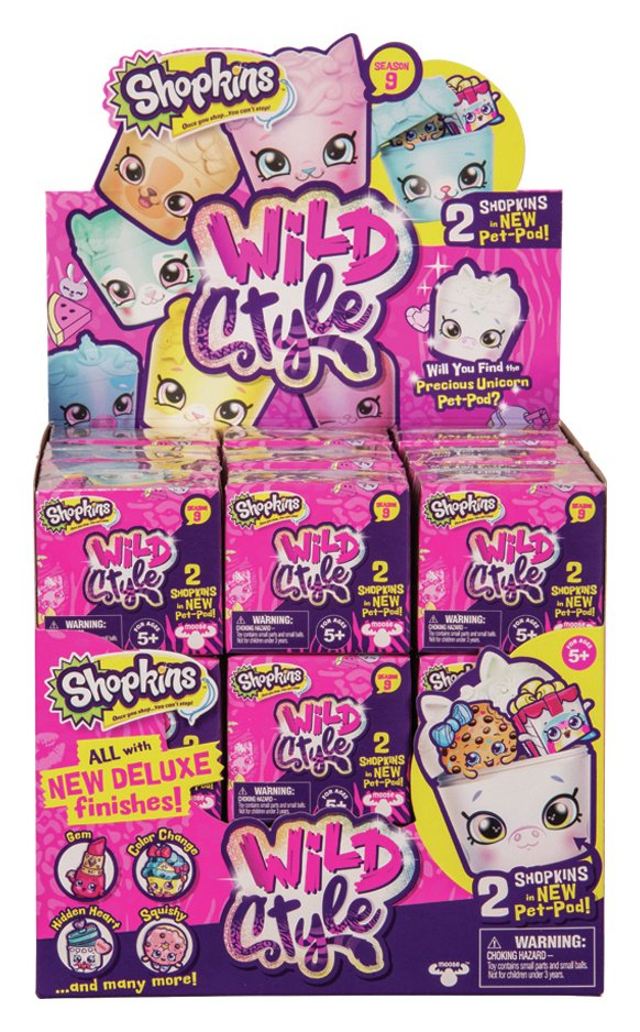 Shopkins Wild Style 2 Pack Series 9