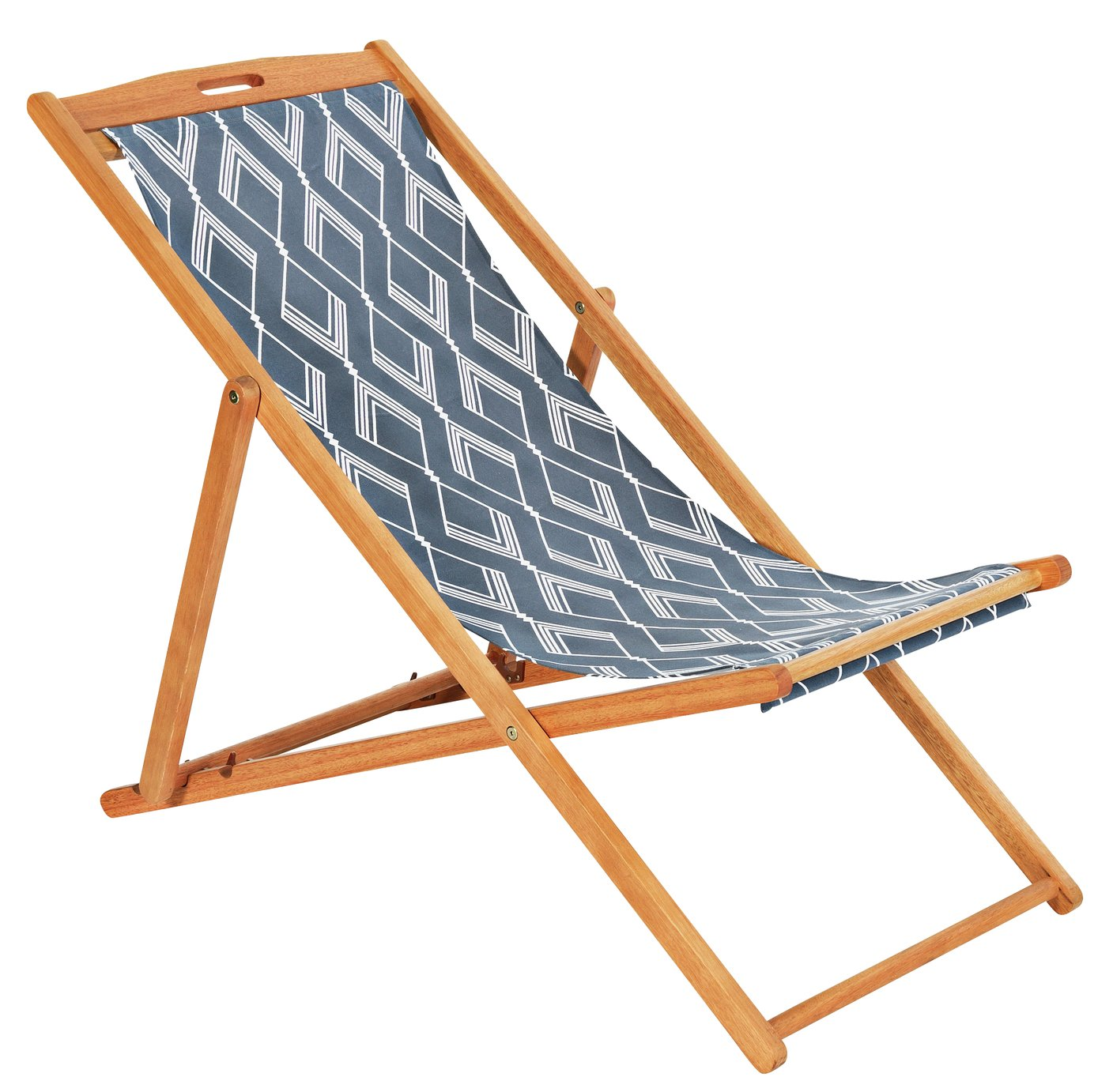 Image of HOME Deck Chair - Zig
