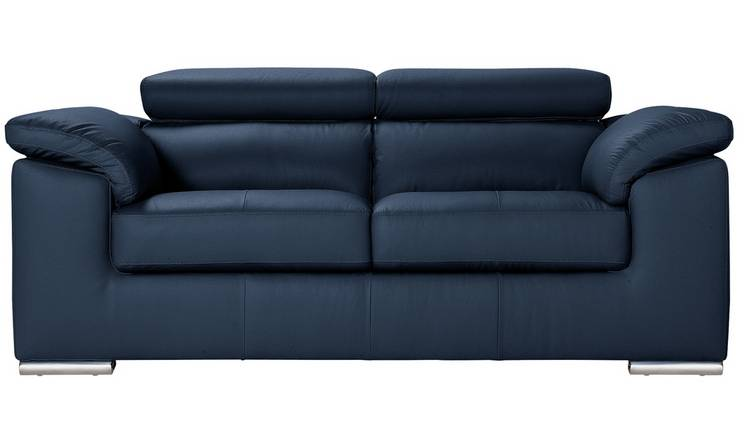 Take a Look at These Awesome Leather Sofa Blue Photos - Home ...