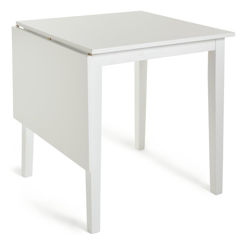 Habitat Chicago Extending 4 Seater Dining Table - White