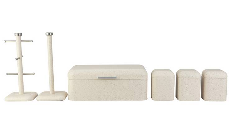 Argos Home Speckle Storage Set - Cream