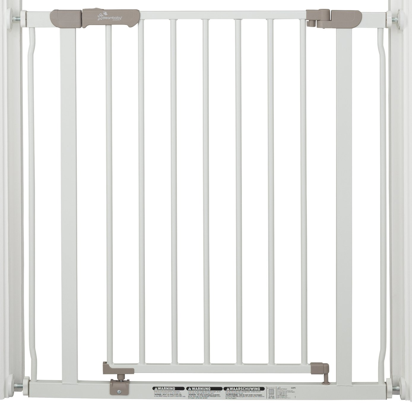 Dreambaby Ava Pressure Mounted Security Gate - White