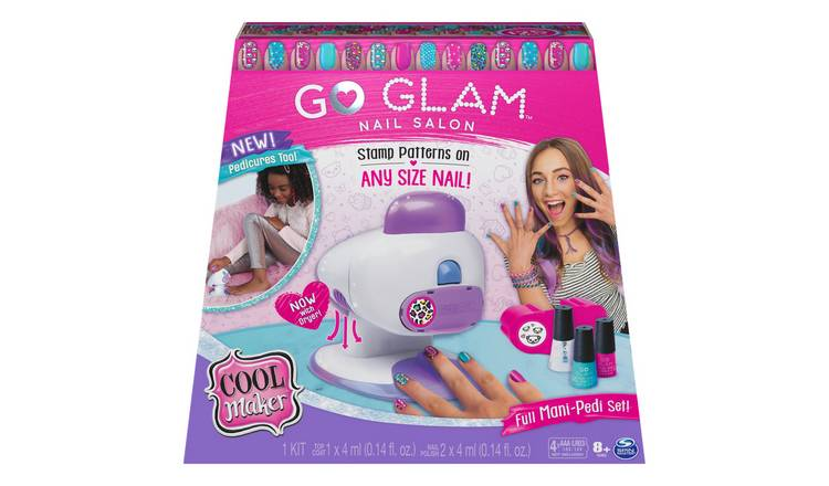 Cool Maker Go Glam 2 in 1 Nail Printer Studio