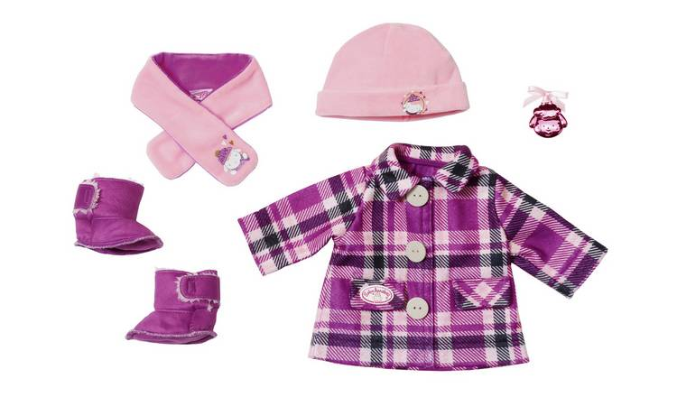 Baby Annabell Deluxe Coat Set